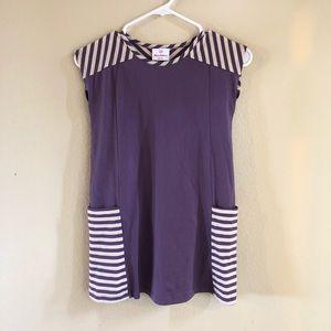 Hanna Andersson Pocket Dress 120(6-7) EUC